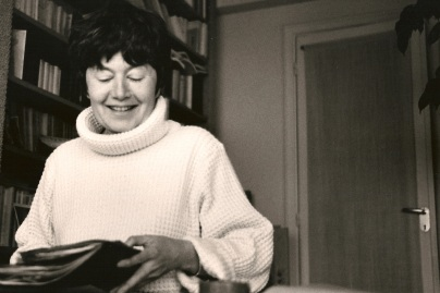 Portrait of Luce Irigaray by Cathy Bernheim