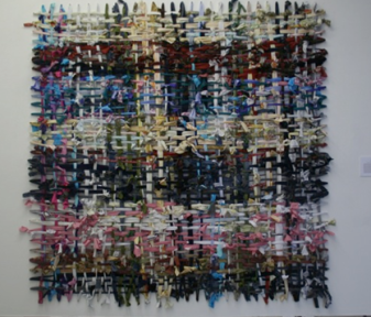 E Matthews - Fig 2 - My Love to You_1.8mx1.8m_fabric strips